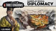 Total War THREE KINGDOMS – Diplomacy Gameplay Reveal (Part 1)