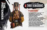 TW3K Yuan Shu-intro