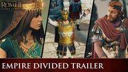 Total War ROME II - Empire Divided Trailer