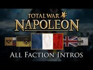 Napoleon- Total War - All Faction Intros