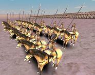General egipcio a caballo