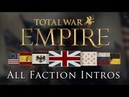 Empire- Total War - All Grand Campaign Faction Intros