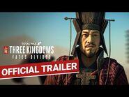 Total War- THREE KINGDOMS - Fates Divided Announcement Trailer