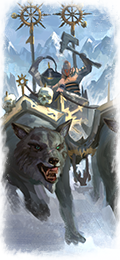 Wh dlc08 nor marauder ice wolves chariot feathered.png