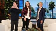 '13 Reasons Why' Stars Katherine Langford and Dylan Minnette's Talk Show Debut