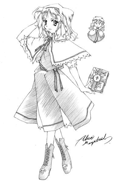 Alice Margatroid/Sinopsis de Libros
