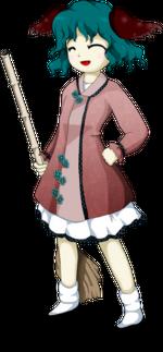 幽谷響子 (かそだに きょうこ)<p>Kyouko Kasodani</p>