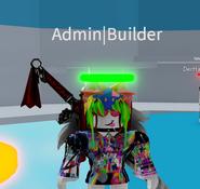 Admin Builder Title