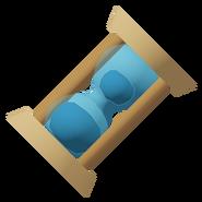 Blue Hourglass Sand