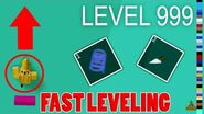 FAST LEVELS!! How to level QUICKLY in Tower of Hell..