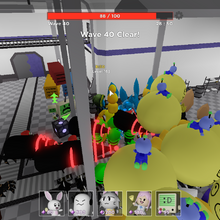 Defeat The Ultra Sentry Roblox Chaos Sentry Tower Heroes Wiki Fandom