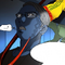 Blue Skin Announcer