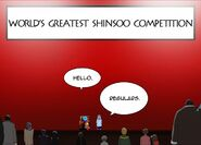 Worlds Greatest Shinsoo Competition