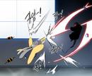 Vespa fighting Yuto