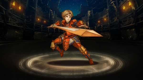 Blazing Swordsman Sean