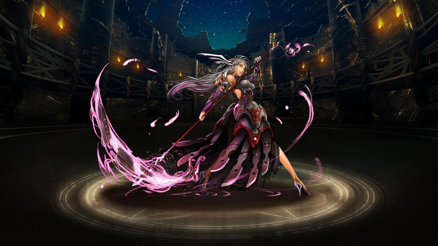 Brynhildr the Scythe Warrior