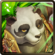 No. 1408 Yunyang the Lute-playing Panda