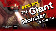 The Giant Monster in the Air