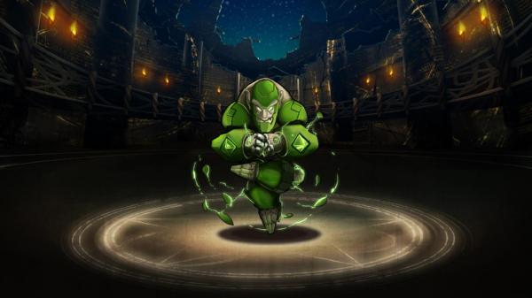 Emerald Golem - Liberated