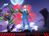 Shinji Ikari & EVA Test Type-01
