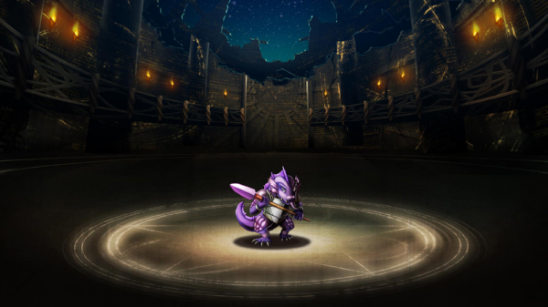 Dark Lizard Warrior