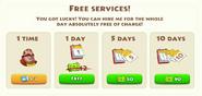 Hiring the Dealer Free Service
