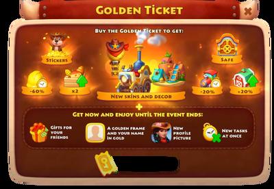 Urban Western Golden Ticket Rewards