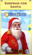 Surprise for Santa Event Calendar