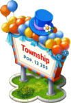 Town Day Town Sign