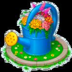 Watering Can Flowerbed