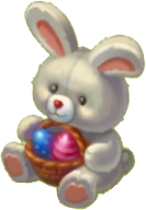 Easter Stuffed Bunny