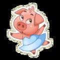 Sticker- Pig3