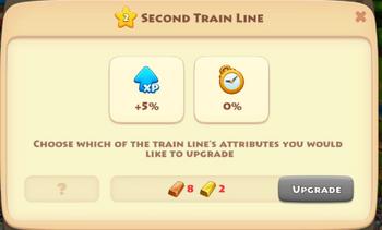 Train Upgrade