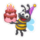 Sticker- Bee2