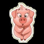 Sticker- Pig2