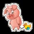 Sticker- Pig4