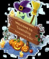 Big Halloween Sign