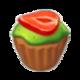 Muffin Kiwi Cream Strawberry.png