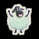 Sticker- Sheep3