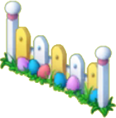 Easter Fence