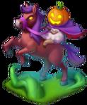 The Pumpkin-Headed Horseman