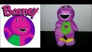 Posh Paws I Love You Barney-1