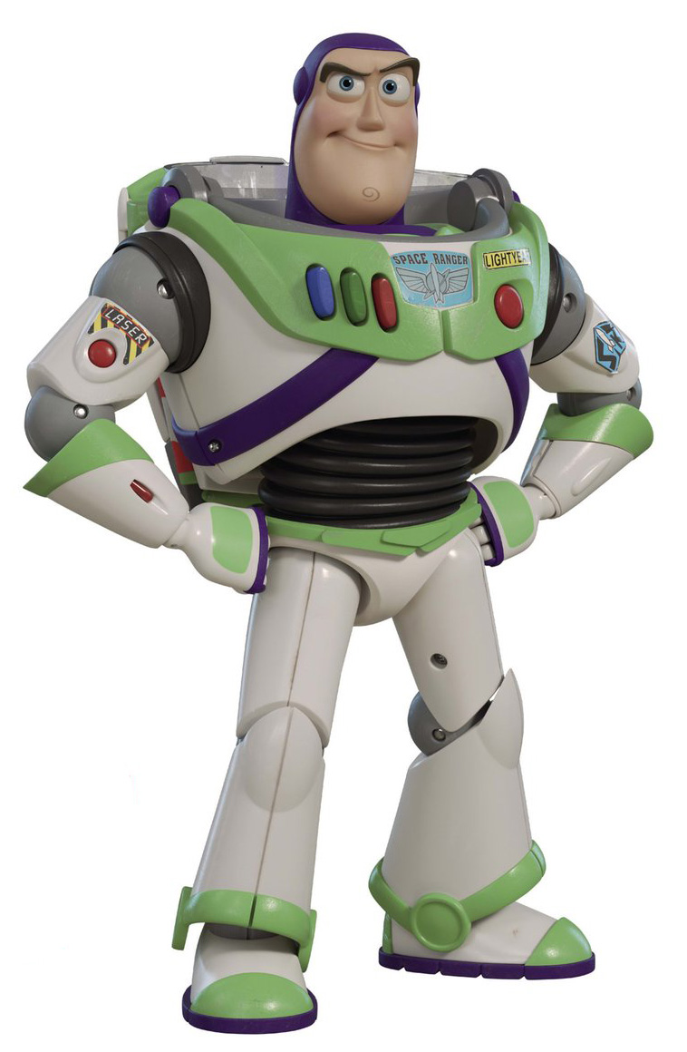 "Disney Toy Story English//Spanish Talking Buzz Lightyear 12/"" Action Figure"