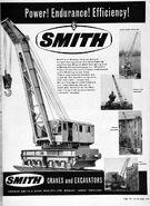 A 1960s Smith Of Rodley Railway Crane Diesel
