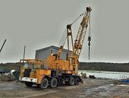 A 1980s NEALS RM Foden Cranetruck Diesel
