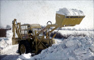 A 1960s Whitlock Brothers Dinkum Power Shovel Diesel 4WD