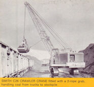 A 1970s Smith Of Rodley C28 Crawler Excavator