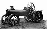 A 1920s ALLEN Of Oxford Steam Tractor