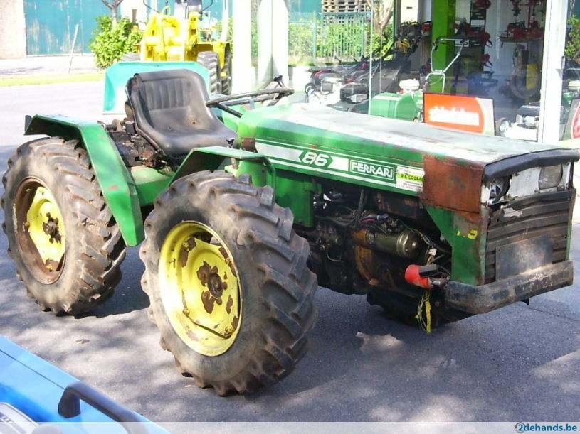 Ferrari 86 Tractor Construction Plant Wiki Fandom