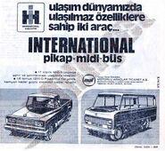 IH TOE 1200D pickup & minibus ad